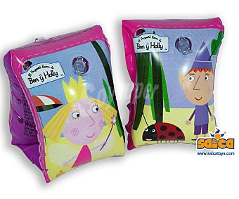 SAYCA TOYS Manguitos hinchables infantiles de Ben & Holly 1 unidad