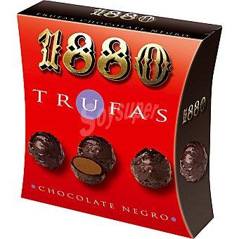 1880 Trufas de chocolate negro Estuche 120 g