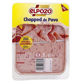 ElPozo Chopped de pavo Paquete 250 g