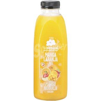 SoNatural Zumo natural de manzana, mango y naranja Botella 750 ml