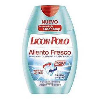 Licor del polo Dentífrico 2 en 1 Aliento Fresco 75 ml
