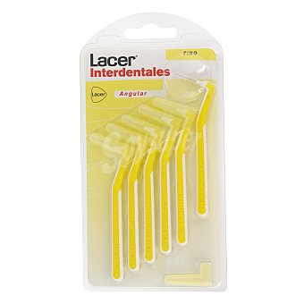 Lacer Cepillo Interdental Angular Fino Blister 6 uds