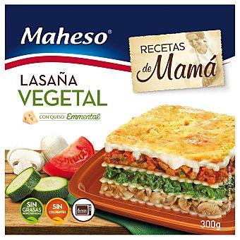 MAHESO lasaña vegetal con bechamel 300 gr
