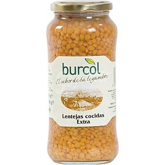 Burcol Lentejas cocidas Frasco 580 g