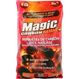 Magic Briquetas de carbón vegetal bolsa 1,6 kg Bolsa 1,6 kg