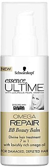 Essence Ultime Schwarzkopf Bálsamo belleza Omega Repair para cabello dañado 100 ml