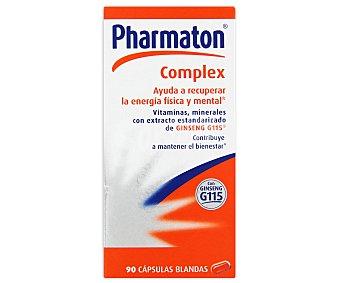 PHARMATON Complemento alimenticio con extracto de Gingseng, vitaminas y minerales para recuperar la energía física y mental 90 C