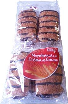 Hacendado Napolitana chocolate industrial Paquete 8 unid