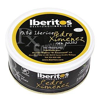 Iberitos Paté ibérico Pedro Ximénez con Pasas 250 g