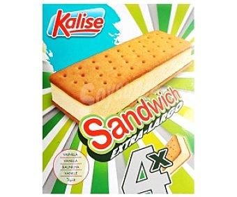 Kalise Sandwich Helado 4 unidades