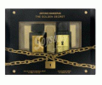 The golden secret A.banderas estuche / ( EDT 50 vp+deo )