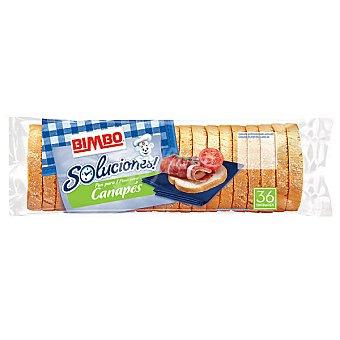 Bimbo Biscotes redondos para canapés bolsa 250 g 36 unidades