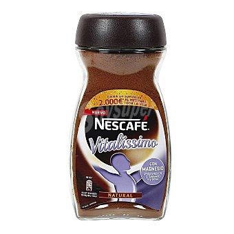 Nescafé Vitalíssimo Natural con magnesio ayuda a reducir el cansancio y la fatiga Frasco 200 g