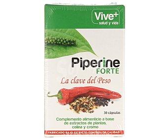 Vive+ Complemento alimenticio a base de extractos de plantas, colina y cromo 30 c