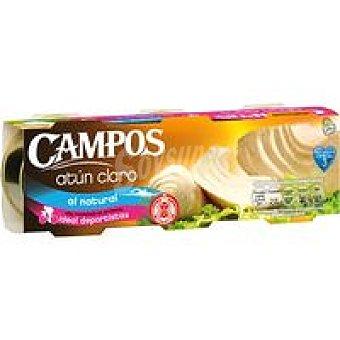 Campos Atún claro natural Pack 3x56 g