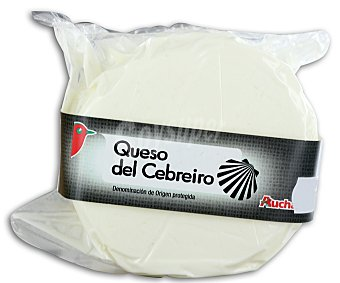 Auchan Queso cebreiro 500 gramos