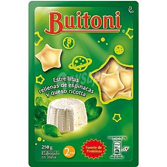 Buitoni Estrellitas de pasta fresca rellenas de espinacas y ricotta Envase 250 g
