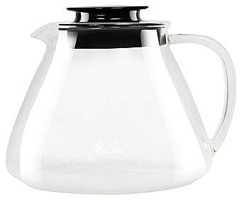 Melitta Jarra de vidrio borosilicato con tapa especial para café, , melitta 1 litro