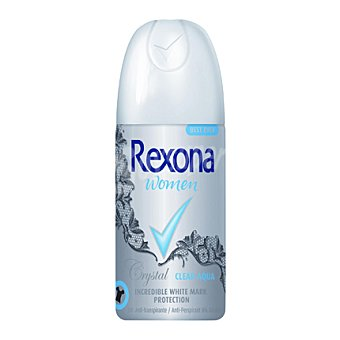 Rexona Desodorante spray para mujer Crystal Clear Aqua 35 ml
