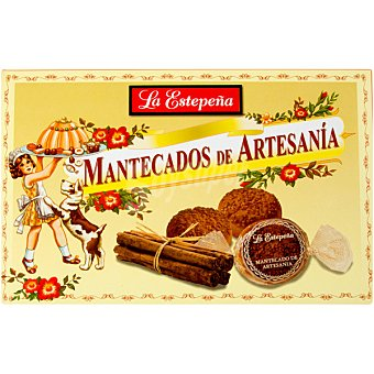 La Estepeña Mantecados de artesanía estuche 320 g Estuche 320 g
