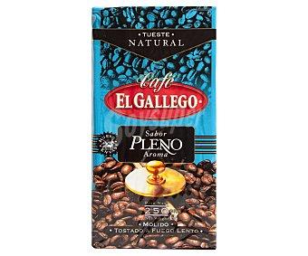 El Gallego Café molido natural Paquete 250 g