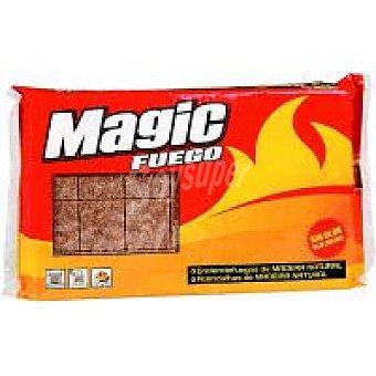 NUBIOLA Magic Pastillas fuego madera Caja 24 unid