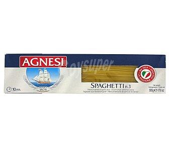 Agnesi Pasta espagueti Nº 3 Paquete de 500 g