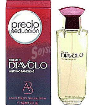 Diavolo Colonia Masculina Frasco de 50 ml