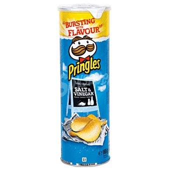 PRINGLES patatas fritas sal & vinagre  tubo 165 g