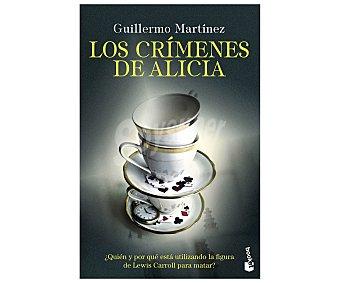 Destino Los crímenes de Alicia, guillermo martinez. Género: policiaca. Editorial Destino.
