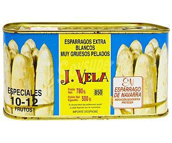 J. vela Espárragos 10/12 Piezas 500 Gramos