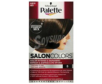 Palette Schwarzkopf Tinte Castaño Claro nº 5 Salon Colors 1 Unidad