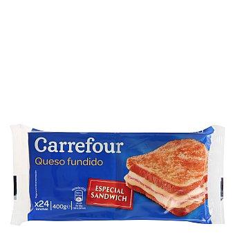 Carrefour Queso en lonchas 400 g