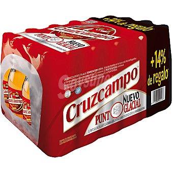 Cruzcampo Cerveza Pack 24 botella 285 ml