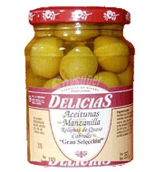 Aceitunas Agrupers Aceitunas rellenas queso delicias 180 g