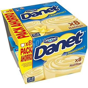Danet de Danone Natillas de vainilla 8 unidades de 125 g