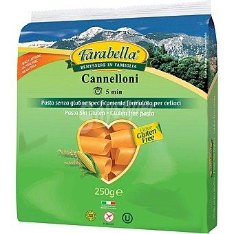 FARABELLA Canelones sin gluten sin lactosa Envase 250 g