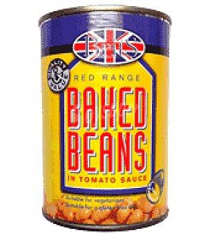 red Range Baked beans 425 g