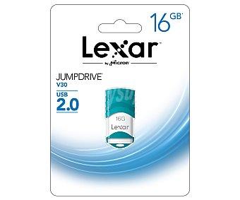 LEXAR Memoria 16GB Usb 2.0 V30 1 Unidad