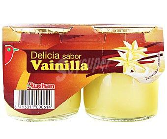 Auchan Delicias de vainilla 2 unidades de 135 gramos