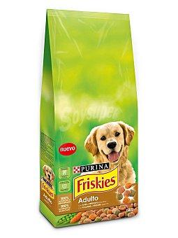 Purina Friskies Comida para perros adulto con Aves y Verduras Bolsa 3 kg