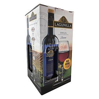 Lagunilla Vino D.O. Rioja tinto reserva 4 botellas de 75 cl