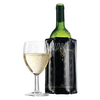 Vacuvin Enfriador de vino - Negro 1 ud