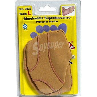 CODYFER Almohadilla superdescanso talla L protector de planta blister 2 unidades