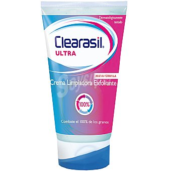 CLEARASIL ULTRA Crema limpiadora exfoliante triple acción tubo 150 ml Tubo 150 ml