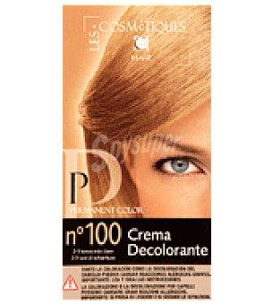Les Cosmetiques Crema decolorante Nº 100 1 ud