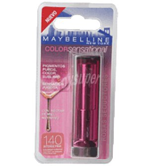 Maybelline New York Barra de labios color sensational 140 intense pink 1 ud