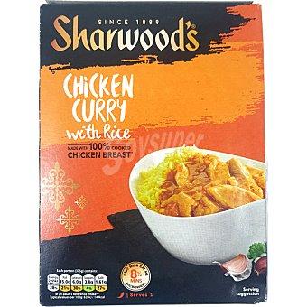 Sharwood's Pollo al curry con arroz Estuche 375 g