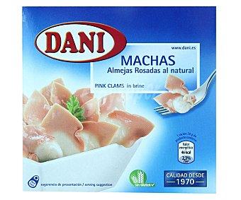 Dani Conserva de almejas rosadas machas Chilenas Lata 63 g