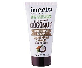 Inecto Crema para manos y uñas con extracto de coco 75 ml